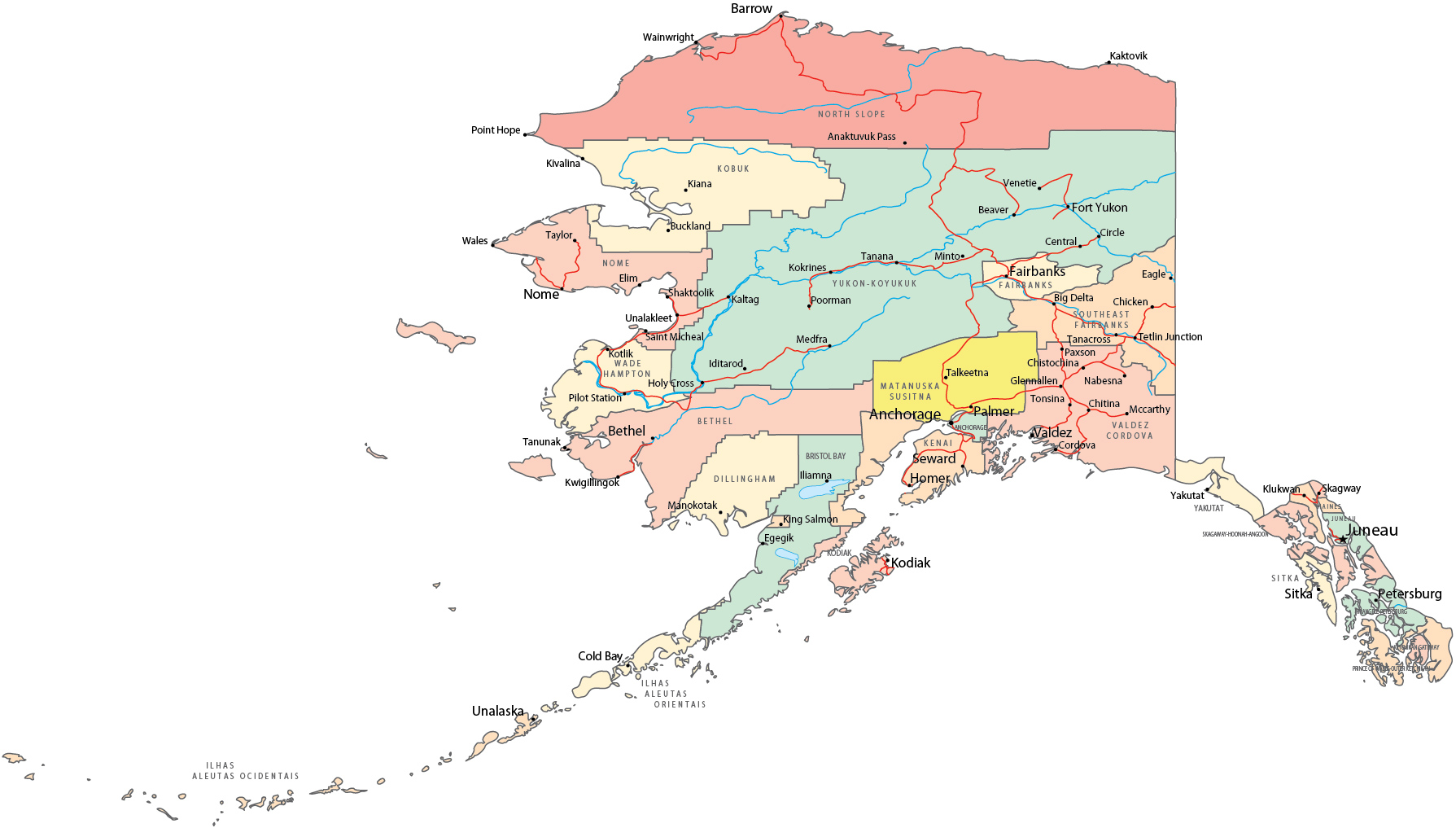 alaska map images with Mapa Politico on Katmai National Park And Preserve likewise 23737882119 moreover Nenana additionally Aurora Airlines Partner Ticket Office In Lenina Str Khabarovsk Russia likewise 8587723555.