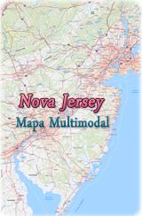 Mapa Político De Nova Jersey - Mapa de new jersey